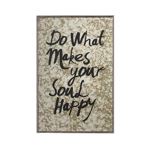 Malibu Happy Soul Wall Mirror