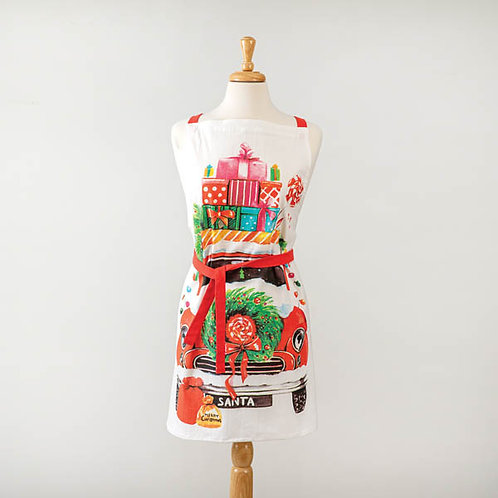 Christmas Car Apron