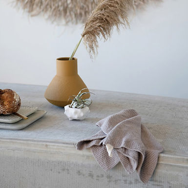 Cotton Knit Tea Towel, 3 Colors
