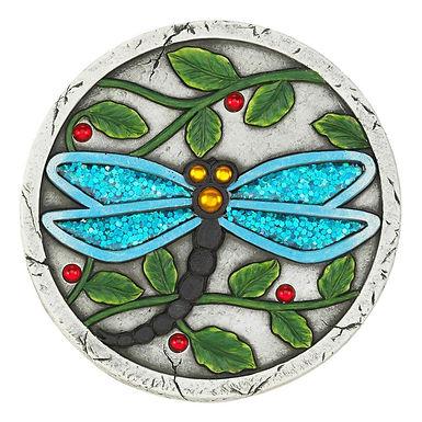 Blue Dragonfly Garden Stepping Stone