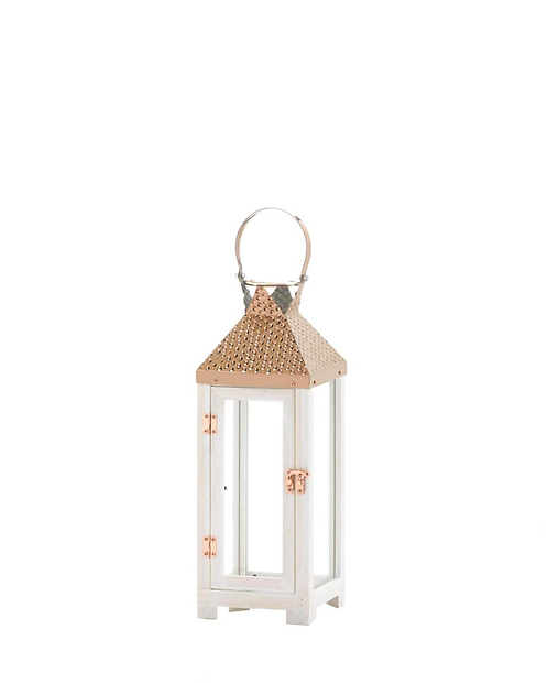 Hartford Small Wooden Lantern