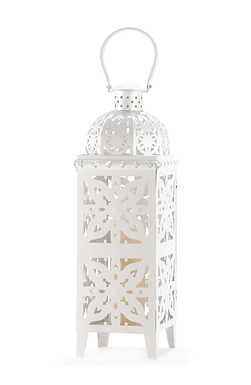 Giant White Medallion Lantern