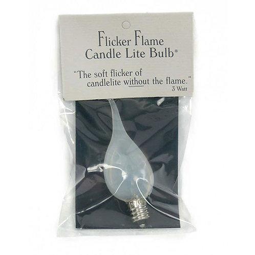 3 Watt Flicker-Flame Candle-Lite Light Bulb - Box of 12