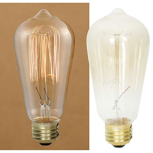 Large 40 Watt Vintage Light Bulb