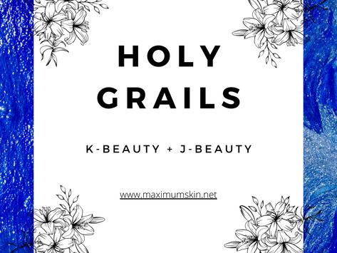 Holy Grails: KBeauty + JBeauty