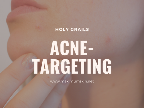 Holy Grails: Acne-Targeting Products