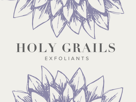 Holy Grails: Exfoliating Serums/Pads
