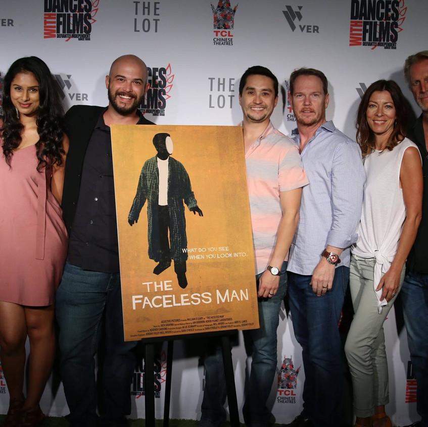 The Faceless Man - World Premiere
