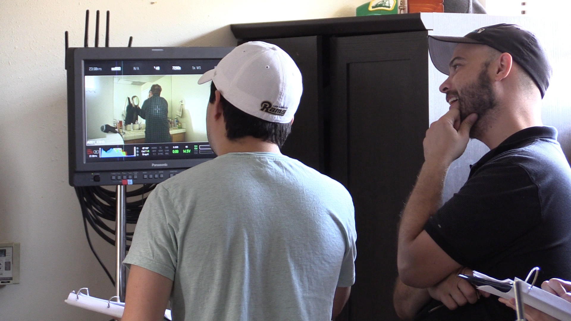The Faceless Man - Behind the Scenes