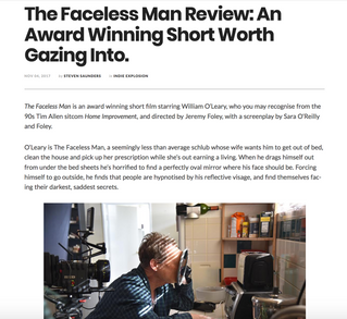 The Faceless Man - Reviews!