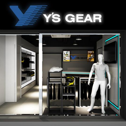 商舖設計 - Y's Gear
