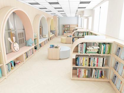 【最新專案】亞斯理衛理小學圖書館