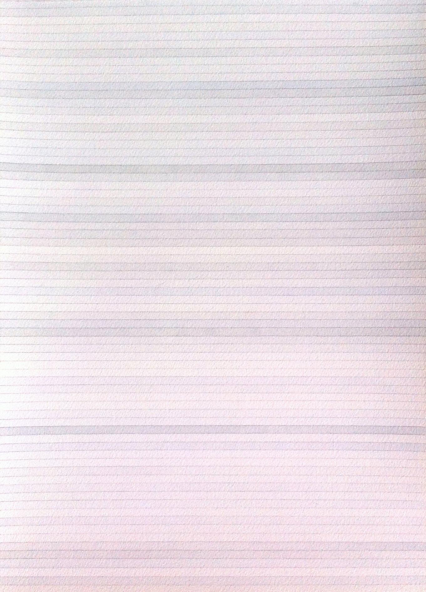 Sans titre, lignes grises indigo