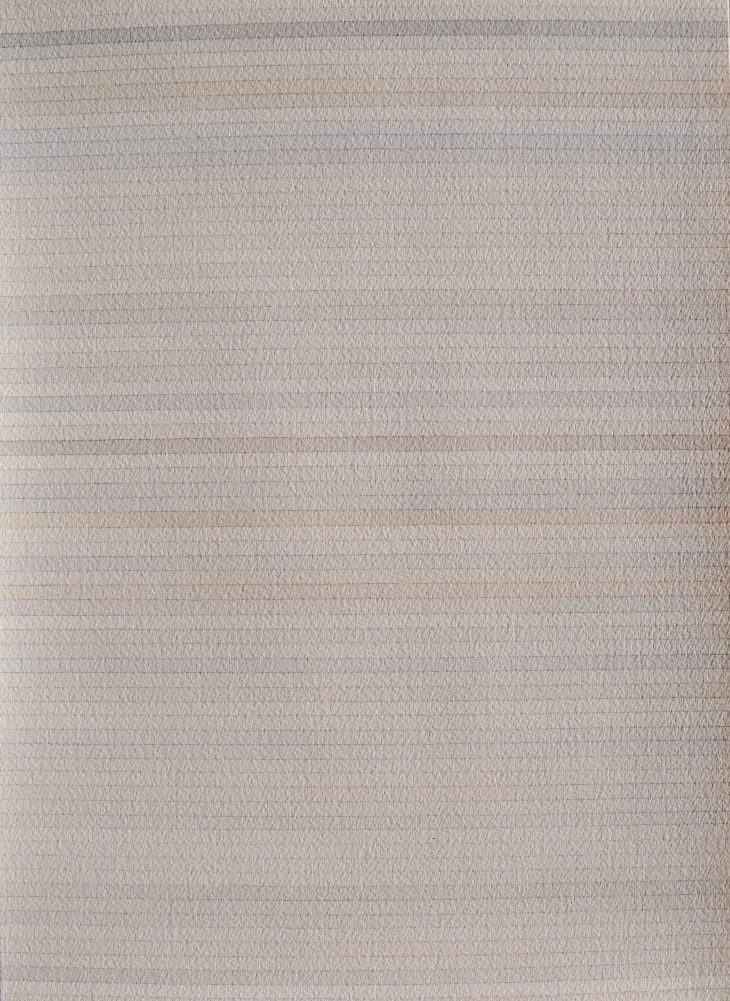 Sans titre, lignes grises et brunes