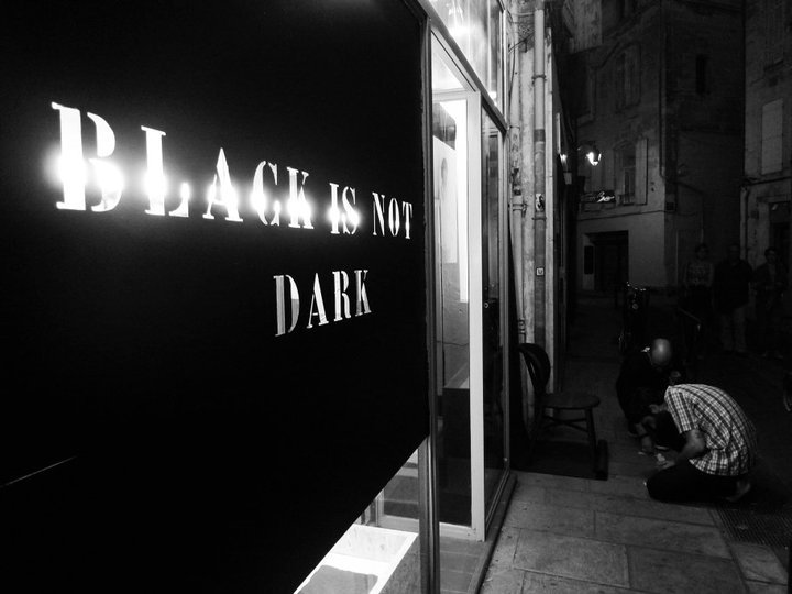 Black is not dark