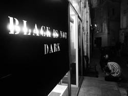 Black is not dark