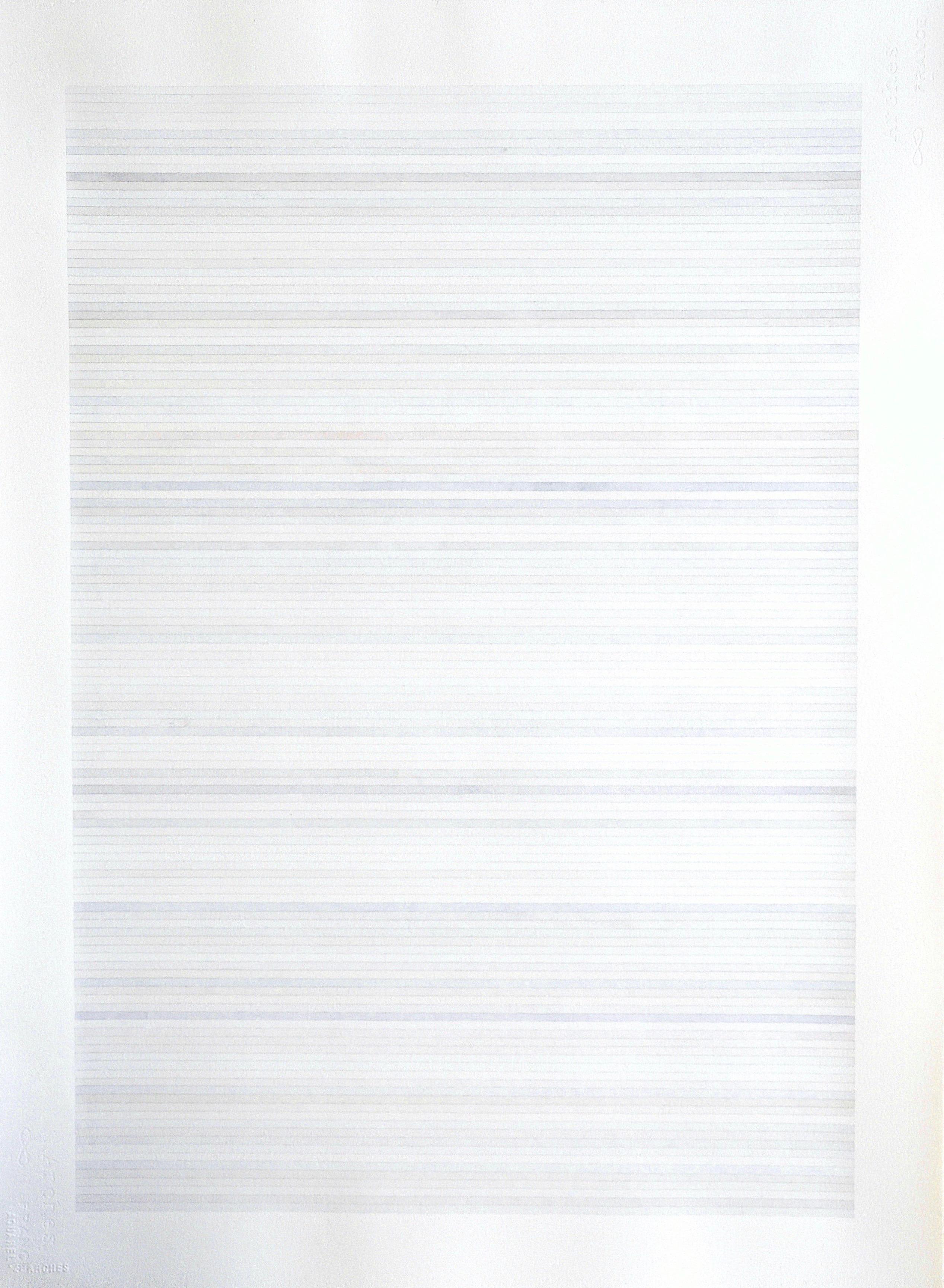 Sans titre, lignes grises