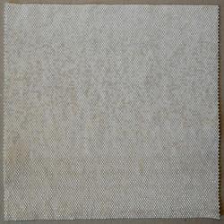 SANS TITRE. Perles blanches. 16,7x16,7