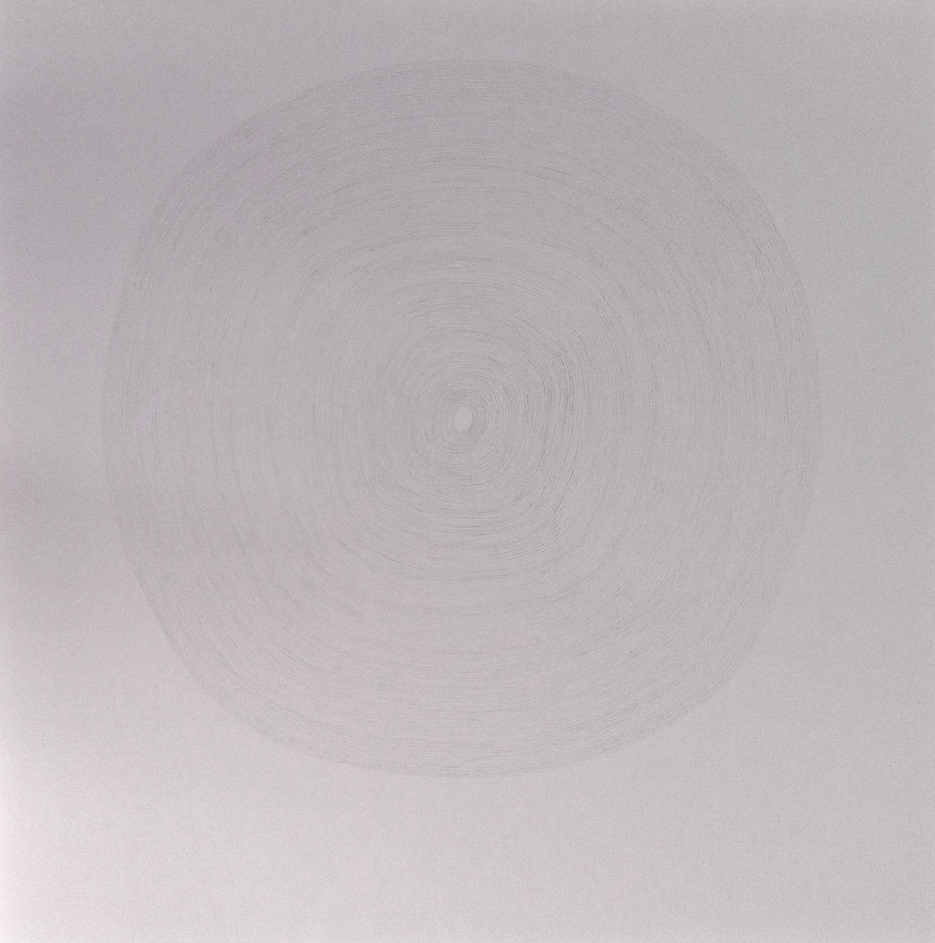 Sans titre, cercles concentriques