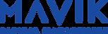MAVIK Logo BLUE w Tag@4x.png