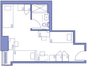 Sample Triple Floor Plan