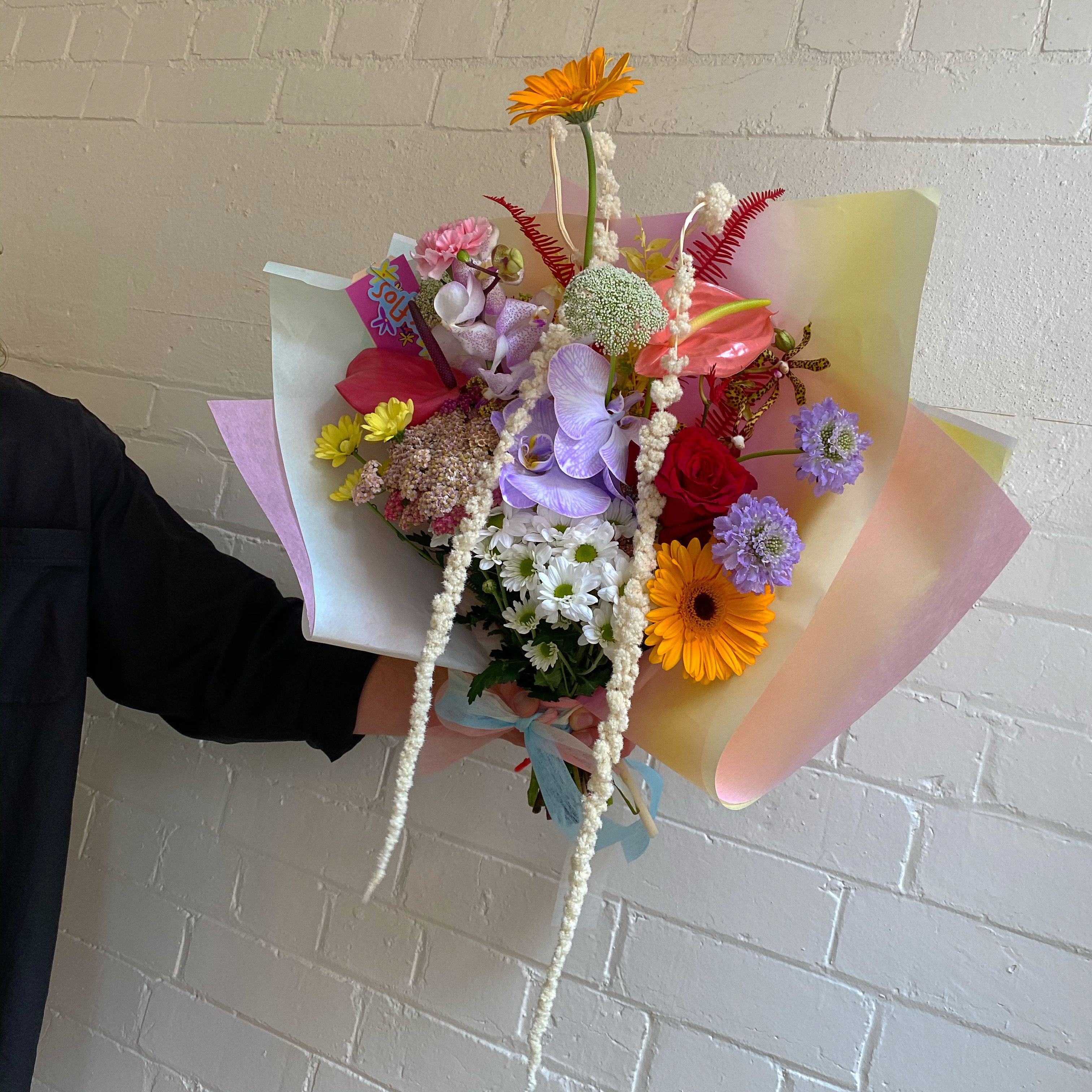 Colourful fresh and everlasting flowers by Melbourne Floral Artist xxflos