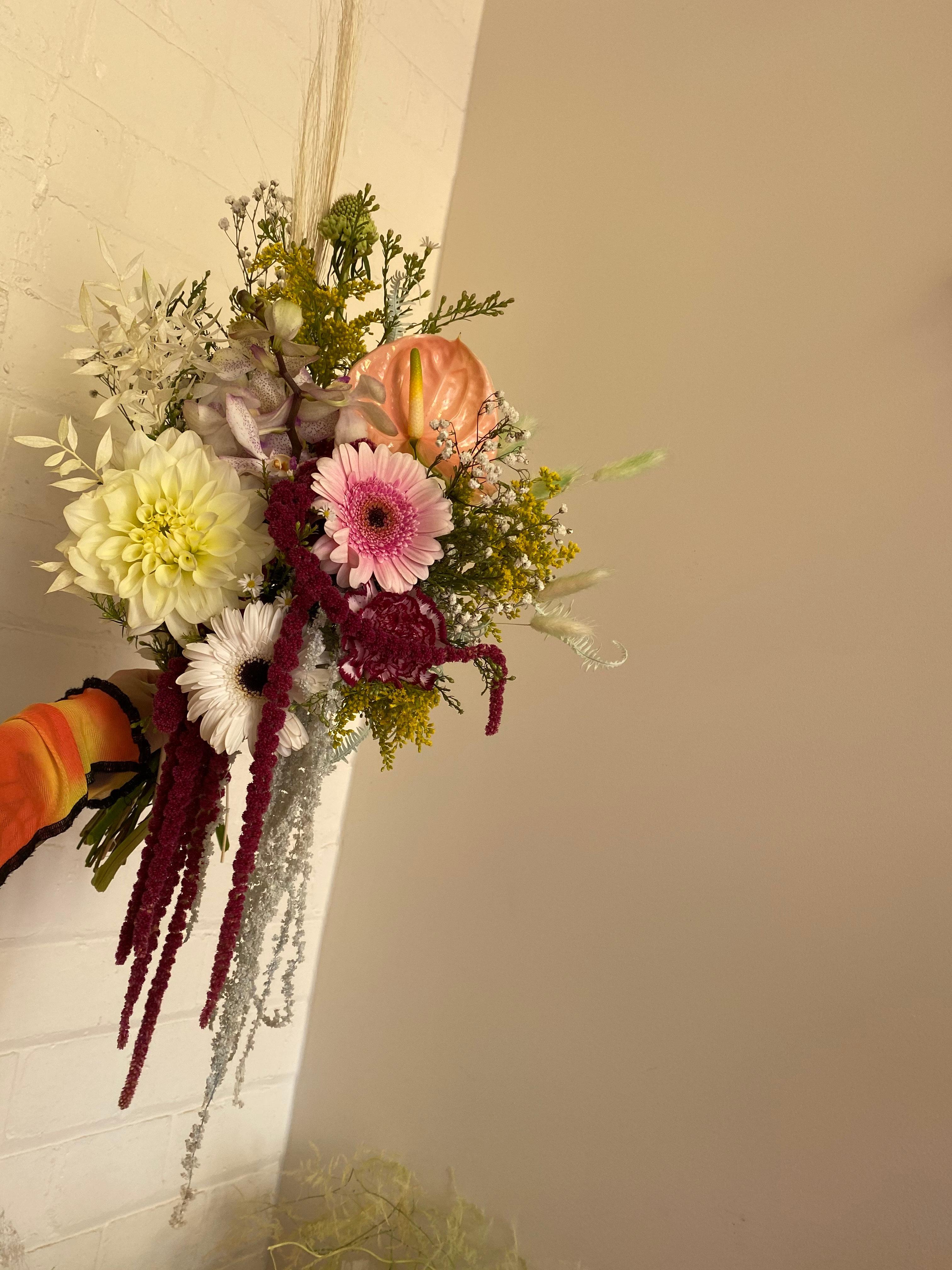 Fresh and everlasting flower arrangement by Melbourne Floral Artist xxflos