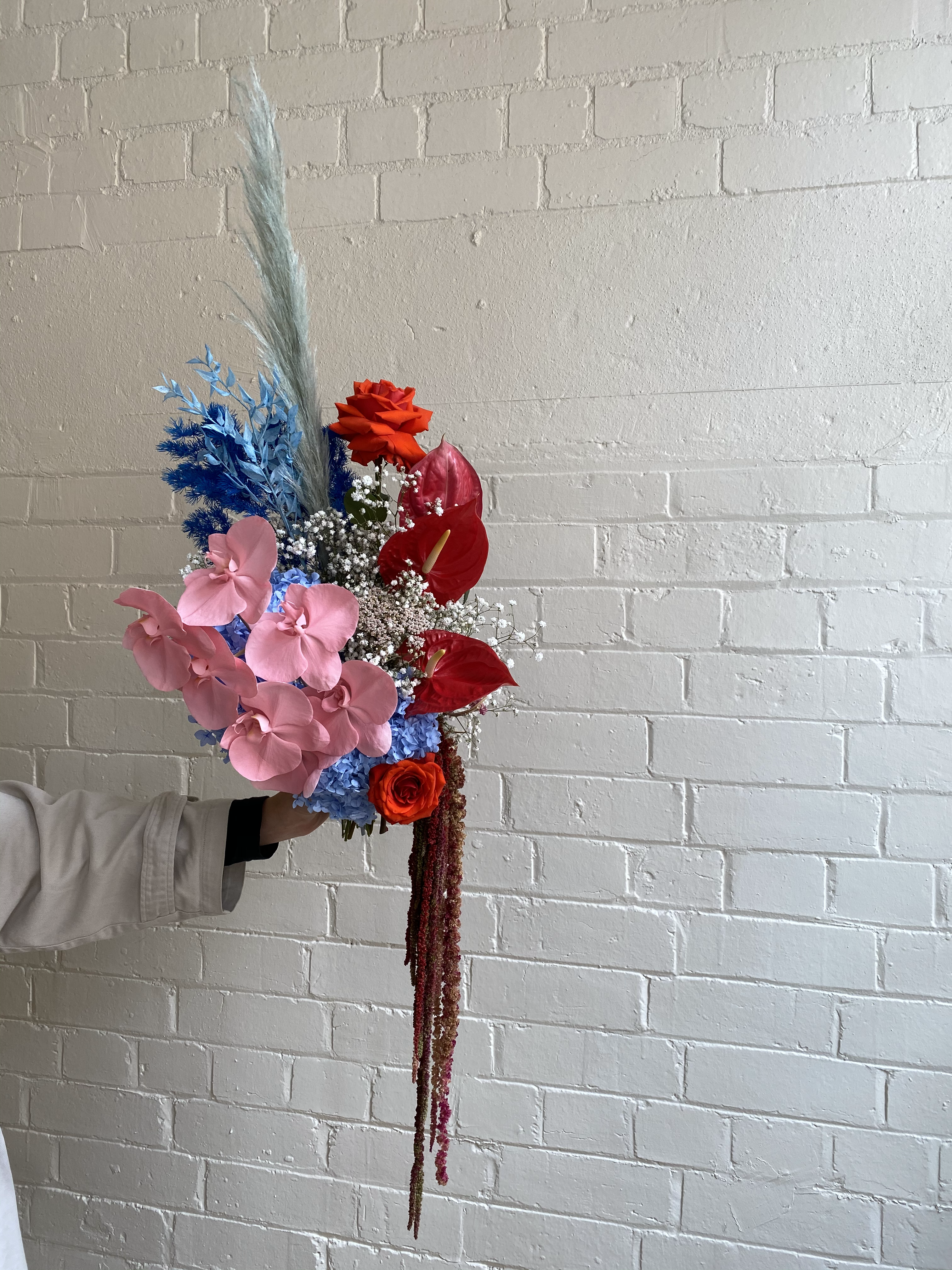 Fresh and everlasting flowers by Melbourne Floral Artist xxflos based in Collingwood