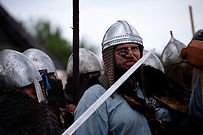 Irish Surnames Vikings in battle reenact