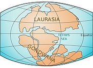 Land Evolution Path of Fire Laurasia Gon