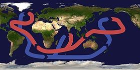 Ice Age Global Ocean Current system CC W