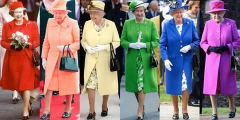 the queen's style, the queen's outfits, colourful queen's outfits, royal fashion protocol, royal fashion rules, crazy queen outfits, most colourful queen's outfits, the queen, monarch fashion
