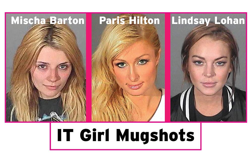 IT Girl Jail Mug Shots
