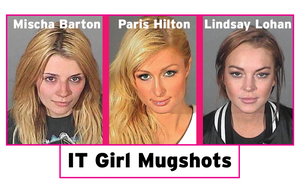 IT Girl Jail Mug Shots