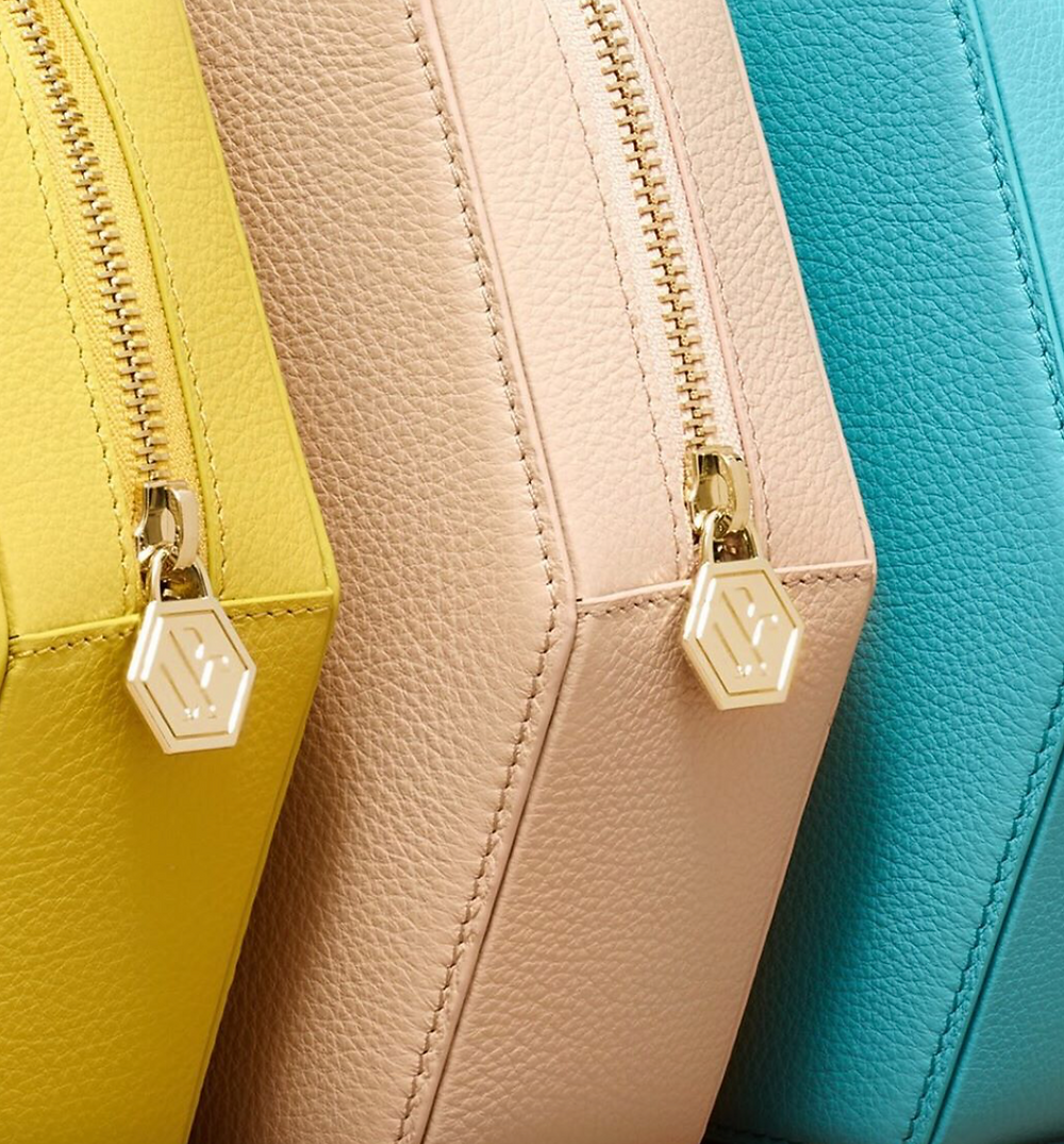 close up of ringing handbag by Bee and Kin