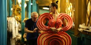 Behind the scenes at fashion freak show jean paul gaultier