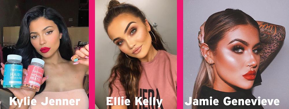 Influencers of Instagram