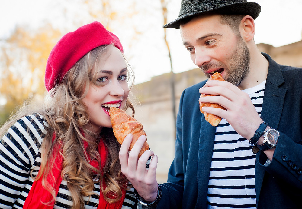 Parisian Berets, stripes and croisants, what the French don't wear