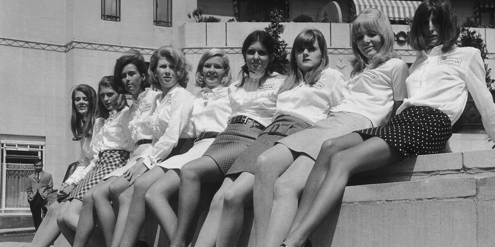 mini skirt 60's, fashion in london, london fashion, Mary quant, iconic designers, sixties fashion