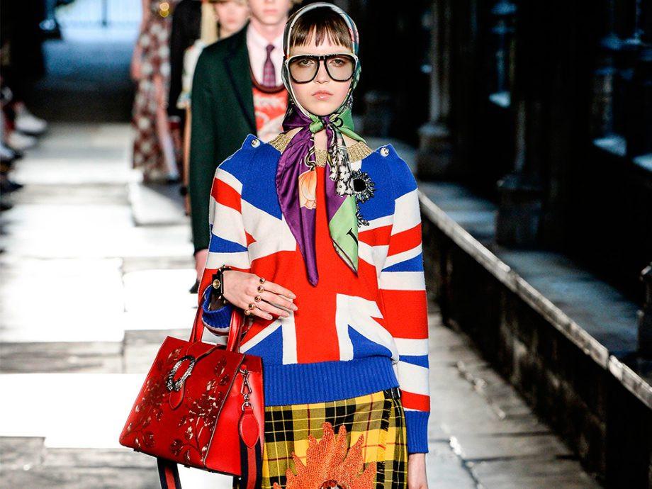 Anti-brexit fashion collection, brexit fashion, Gucci, Gucci Resort 17, Gucci fashion collection, British Gucci Fashion Collection, fashion news, fashion brexit, brexit fashion