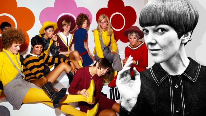 Mary Quant, fashion, swinging sixties, London fashion, 60's fashion, mini skirt, womens skirts, fashion news, fashion awards