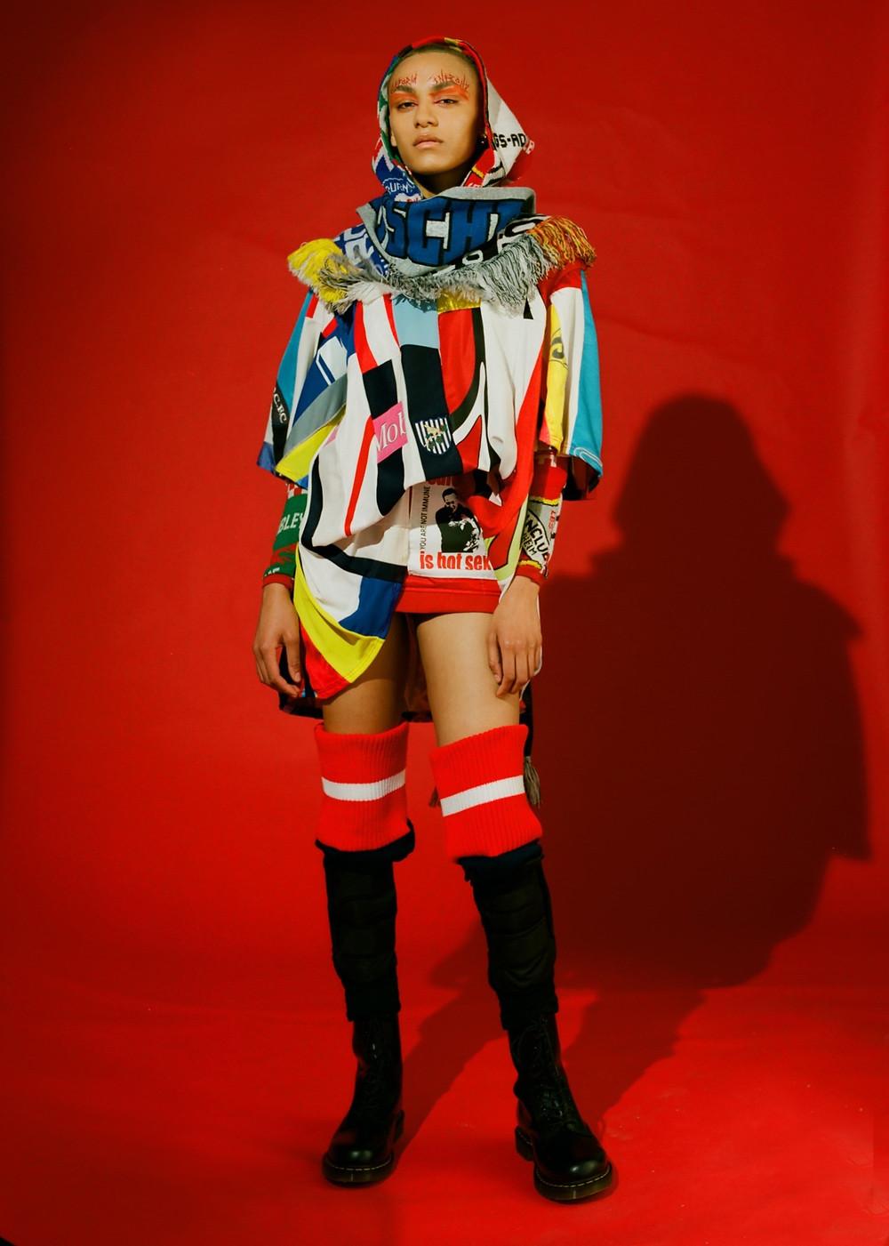anti brexit fashion collection, Philip Ellis Collection, Philip Ellis Brexit collection, fashion, up and coming designers, new fashion designer, political fashion designers
