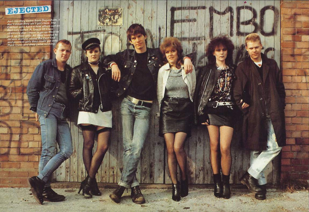 80's fashion, punk fashion, punk era, punk, mini skirt 80's, eighties fashion