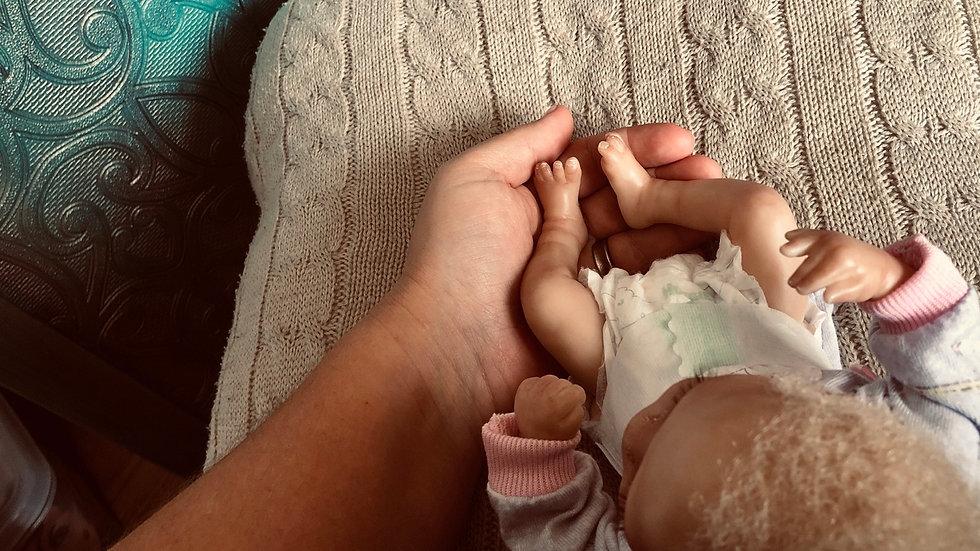 Reborn biracial baby BeeJee