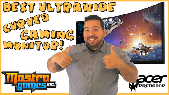 The Best Ultra-Wide Curved Gaming Monitor