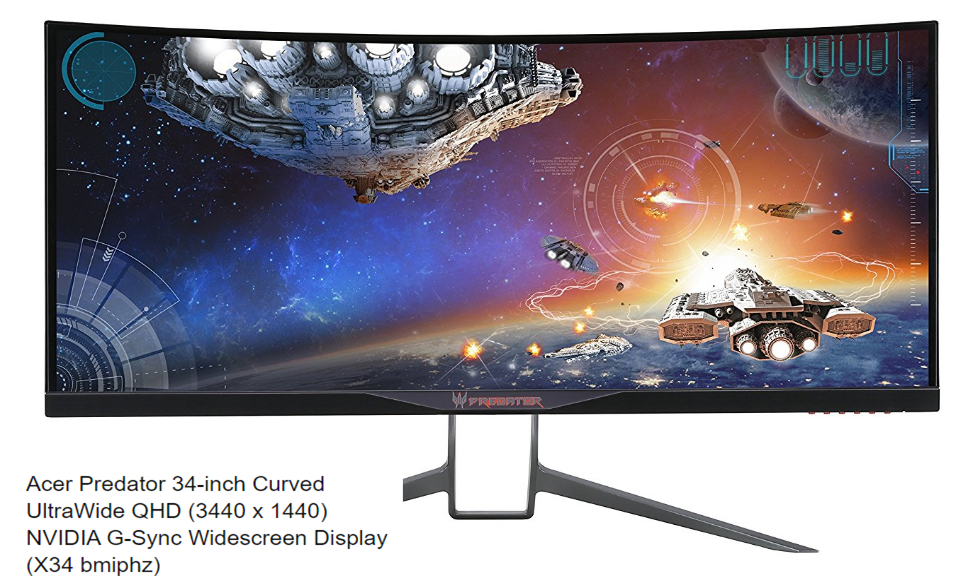 Acer Predator Curved Ultrawide Gaming Monitor