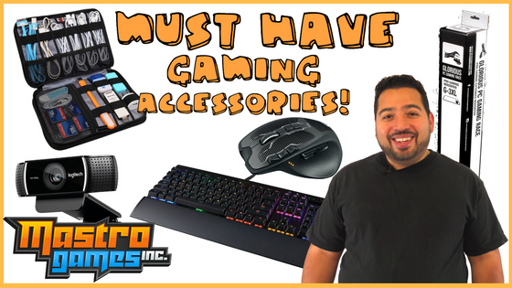 Must Have Gaming Accessories!