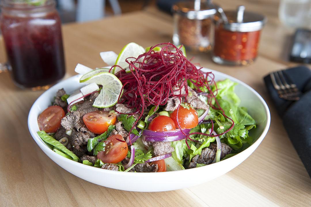 Lime Steak Salad
