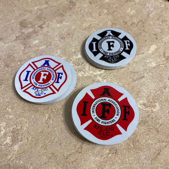 IAFF Sticker - Reflective 1.5 Small