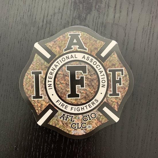 IAFF Sticker - Camo
